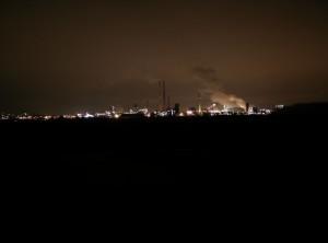 Motiv: Industrie am Rhein 1
