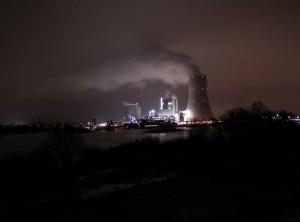 Motiv: Industrie am Rhein 2