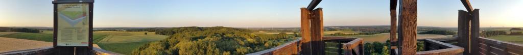 Panorama Aussichtsturm Sonsbeck 30.06.2015